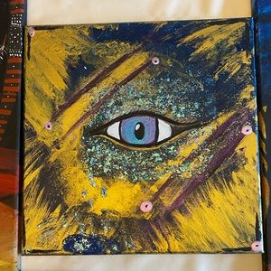 Evil eye protection Painting